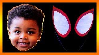 Pretend Play Spider Man Into The Spider Verse Fun Kids Toys