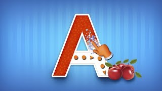 Learn to trace Upper Case Alphabets | ABC for Kids | Free Mobile App from Edubuzzkids
