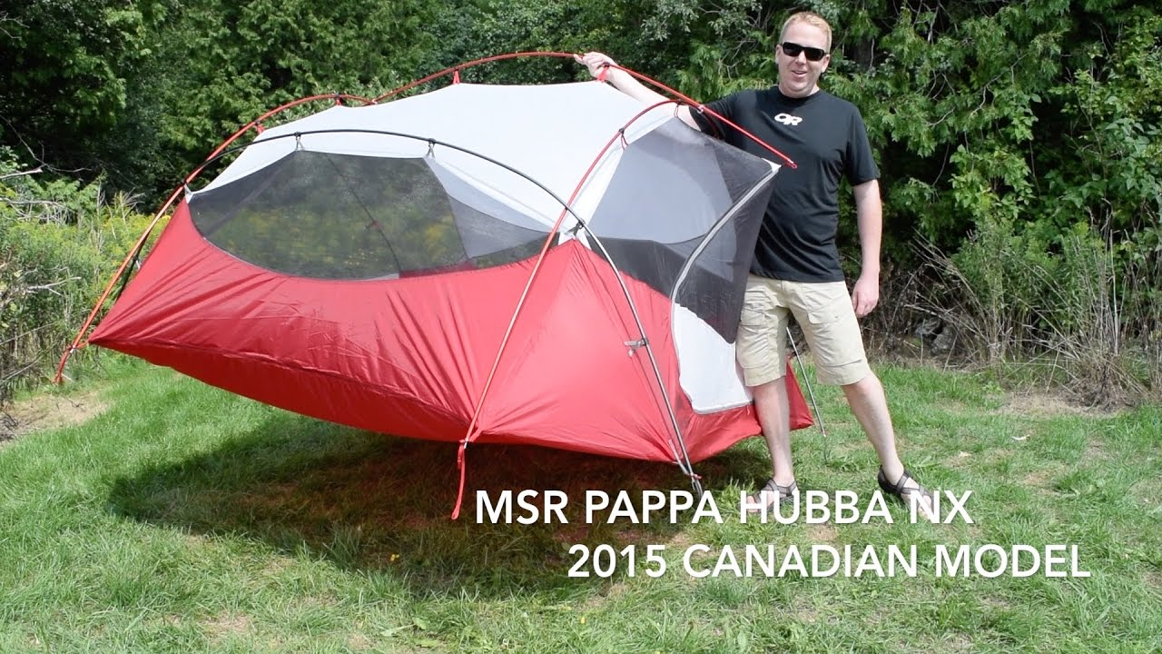 MSR Pappa Hubba NX Review  sc 1 st  YouTube & MSR Pappa Hubba NX Review - YouTube