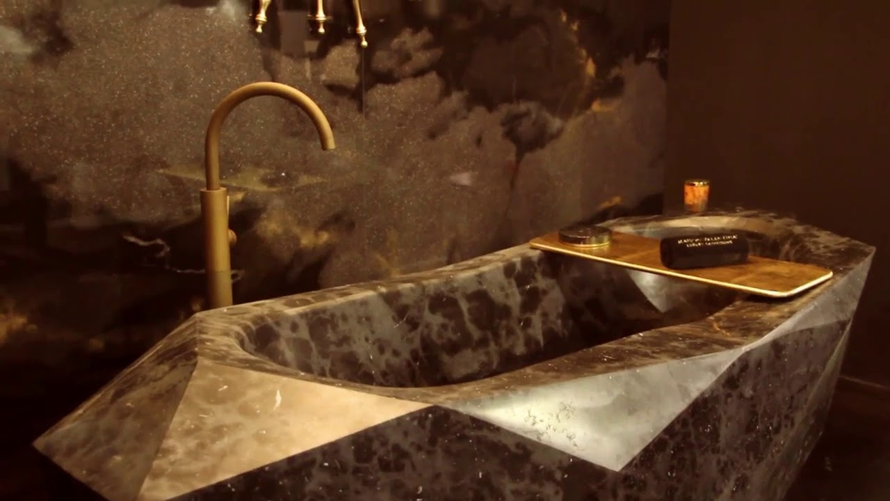 Diamond Bathtub I Maison Valentina - YouTube