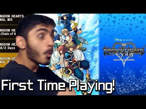 First Time Playing - Kingdom Hearts HD 1.5+2.5 ReMIX PS4 (Highlight Reel)
