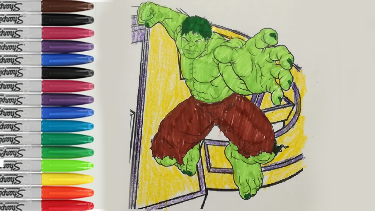 the hulk coloring pages the incredible hulk the avenger hulk fun