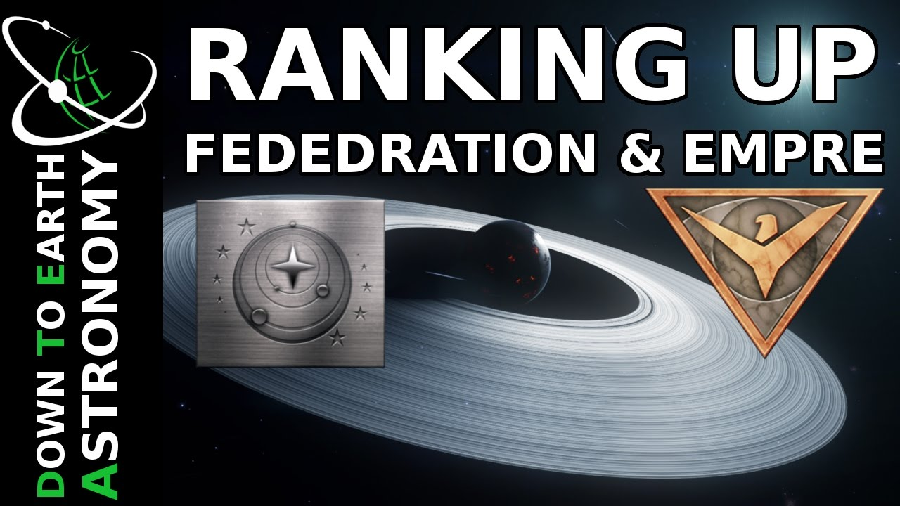 HOW TO GET EMPIRE AND FEDERATION RANK | ELITE DANGEROUS