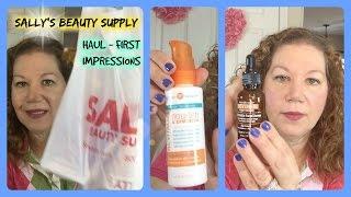 Sally's Beauty Supply Haul ♥ Beyond Belief & Retinol First Impressions