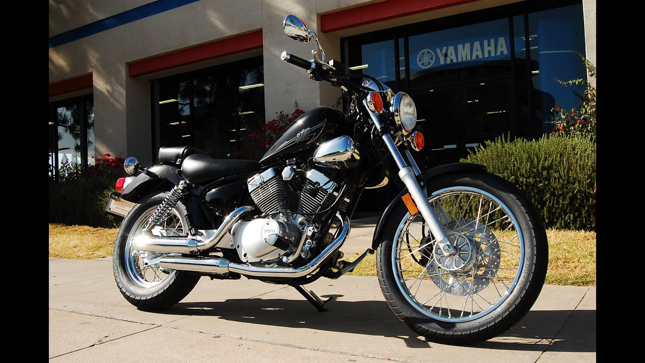2015 Yamaha V-Star 250 - YouTube