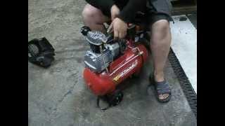 компрессор Forte 24L замена сальника коленвала
