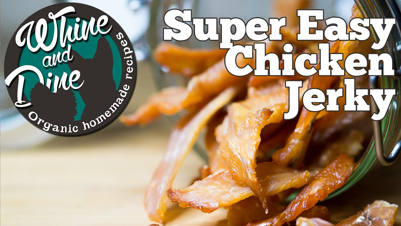 Super easy chicken dog treats homemade jerky youtube forumfinder Gallery