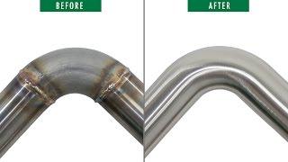 Pipe Belt Grinder attachment MB 650 RV - weld seam grinding