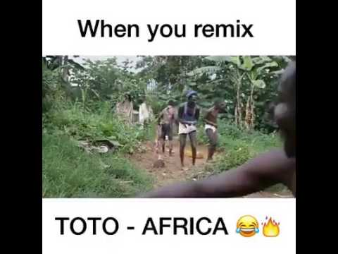 When they remix Toto