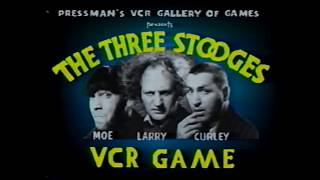 VCR Board Games: The Three Stooges