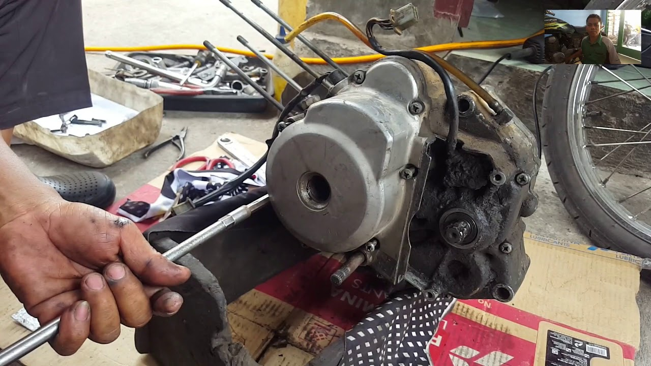 Cara 2 Merakit Komponen Mesin Motor shogun - YouTube