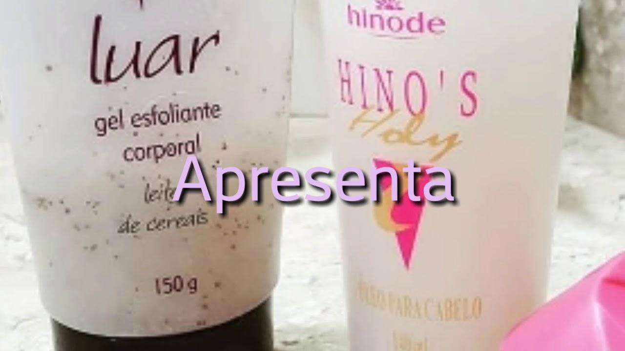 3ec63ecc8 Tratamento capilar com Esfoliante luar e óleo hinos capilar Hinode ...