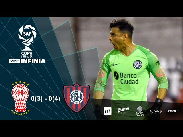 #CopaSuperliga: resumen de Huracán - San Lorenzo