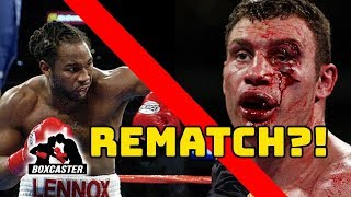 Lewis vs. Klitschko Rematch IS NOT HAPPENING!! | RUMOR SQUASHED