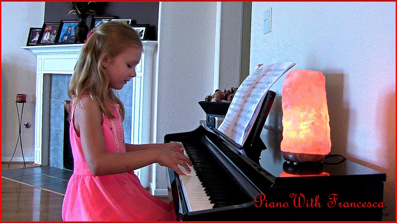 Fur Elise by Beethoven by 9 yr old Full Version piano
