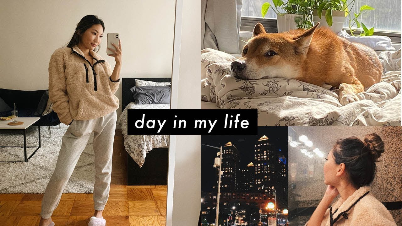 [VIDEO] - DAY IN MY LIFE VLOG ✨ | nyc life, school, youtube, finding balance 1