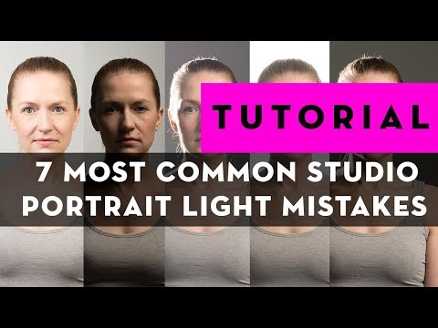 7 Common Portrait Lighting Mistakes (And How to Avoid Them)