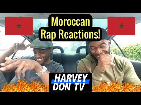Moroccan Rap Reaction! Ft 7liwa, Lbenj and Muslim