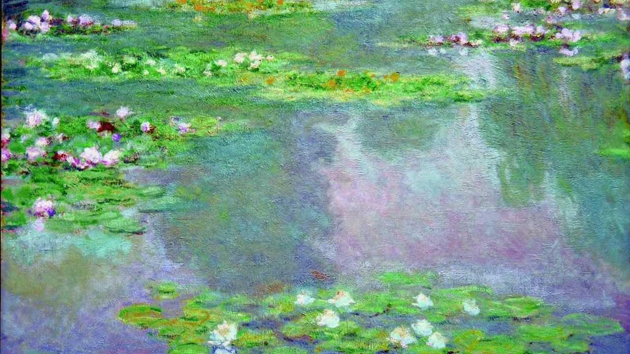 《在光的花園裡追尋》當蔣勳聽見莫內Monet。睡蓮Water Lilies - YouTube