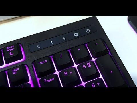 Review: For My Next Million Words, the Razer Ornata Keyboard