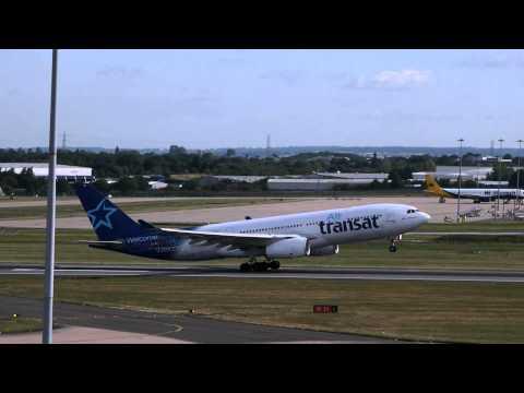 Air Transat Flight 165 (BHX to Toronto)