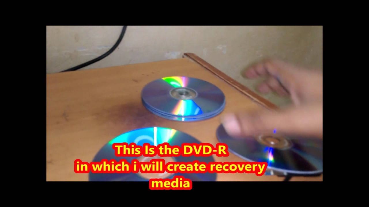 make recovery disk windows 8.1