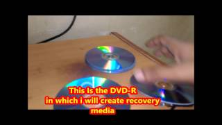create recovery disc in windows 8.1 or 8 in hp laptops(step by step)