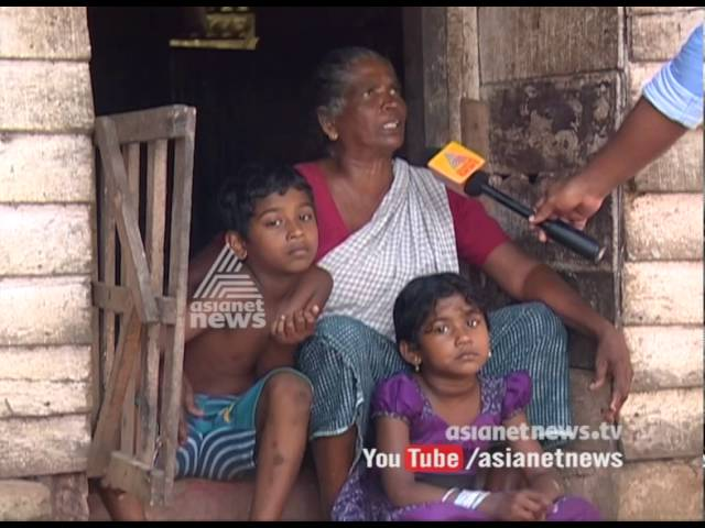 Alappuzha Changanassery AC Road Colony's families  , not getting any govt help