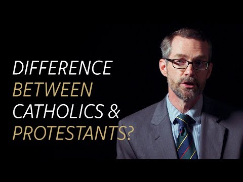 What is the difference between Catholics and Protestants?