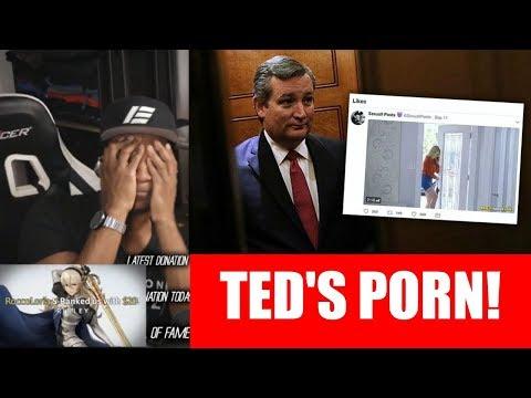 ETIKA WATCHES TED CRUZ'S PORN! [STREAM HIGHLIGHTS]