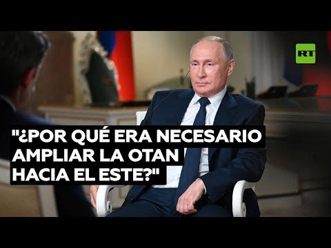 """Putin: """"Nuestros ejercicios militares no deben preocupar a la OTAN"""""""