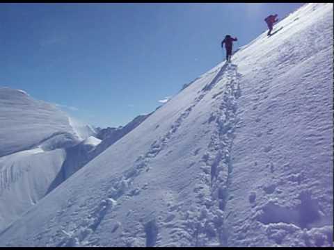 Skiing Byron Peak (Alaska)