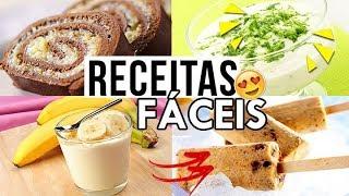 RECEITAS FACEIS E GOSTOSAS QUE TODO MUNDO PRECISA FAZER! #3