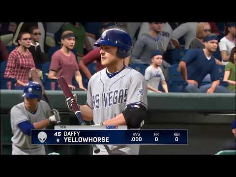 MLB The Show 17: Las Vegas 51s @ El Paso Chihuahuas. April 8, 2021.