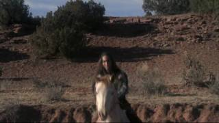 """""""Tatanka Means"""" portraying """"Crazy Horse"""" in the movie """"Into the West"""""""