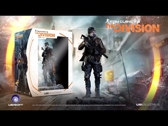 Tom Clancy's The Division: SHD AGENT FIGURINE - LAUNCH TRAILER