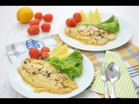 Quick & Easy Recipe Myfunfoodiary: Dory Fish With Lemon Butter Sauce
