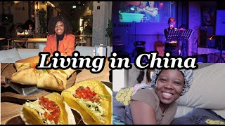 LIVING IN CHINA VLOG date night Chinese food foreigners eat nightlife in china black girl