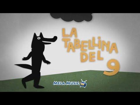 CANTIAMO LA TABELLINA DEL 9 - La canzone del lupo Gedeone
