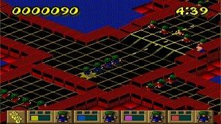 Lemmings Paintball demo (Windows game 1996)