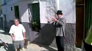 Manolo El Trompeta en Serradilla