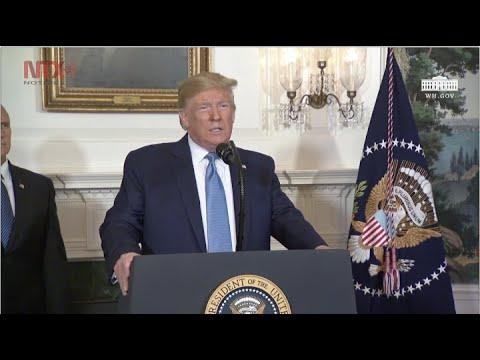 Las enfermedades mentales son las que jalan el gatillo, no el arma: Trump