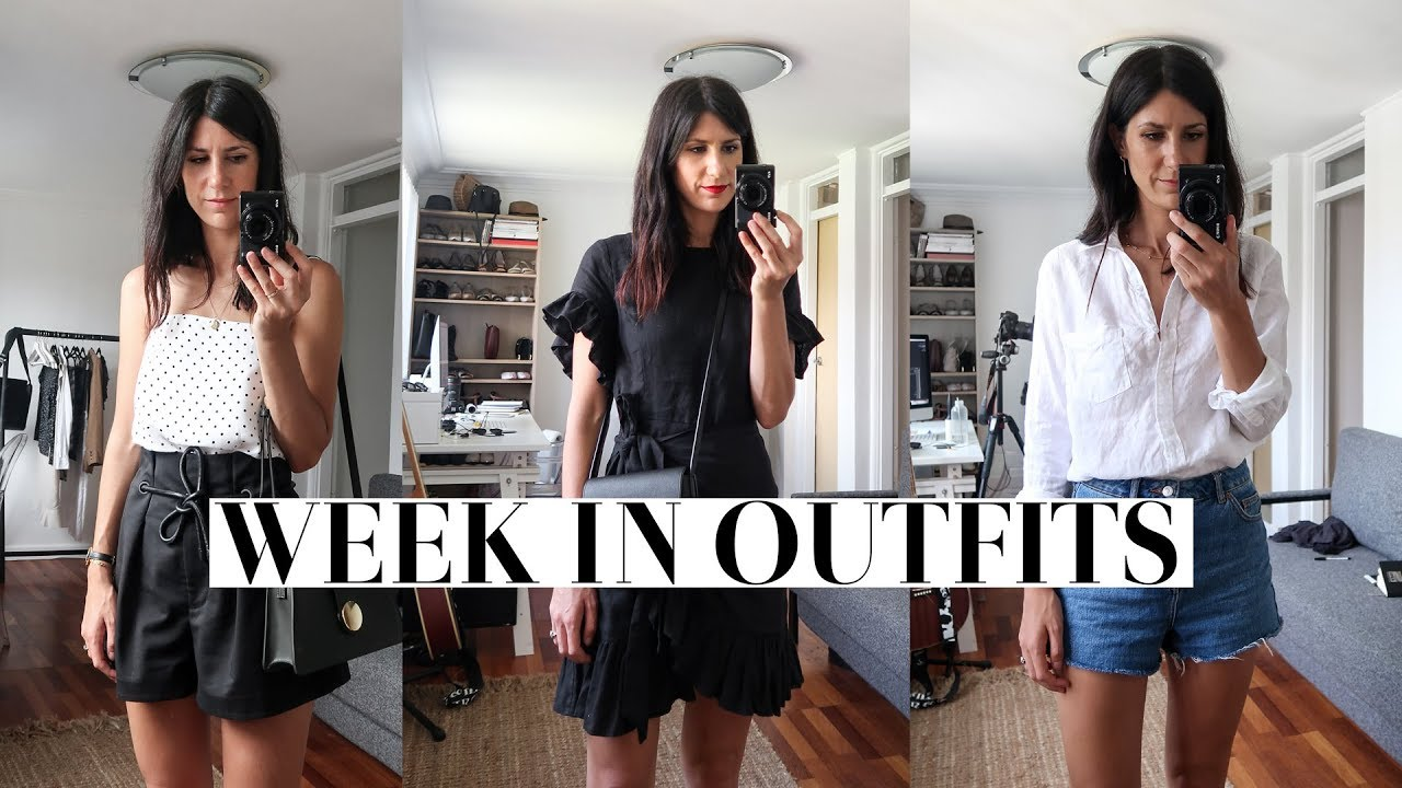 A WEEK IN OUTFITS - 7 Spring/Summer looks for warm weather | Mademoiselle 2