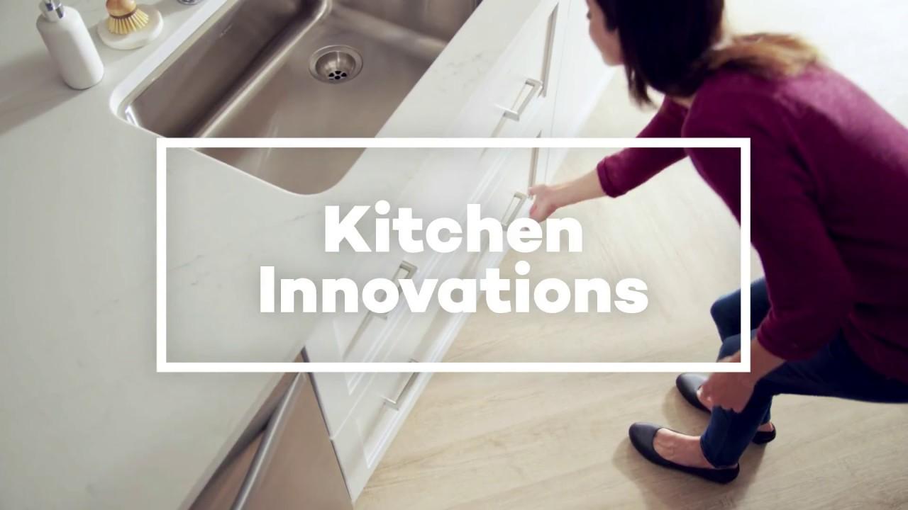 KraftMaid® Sink Base Drawers - YouTube