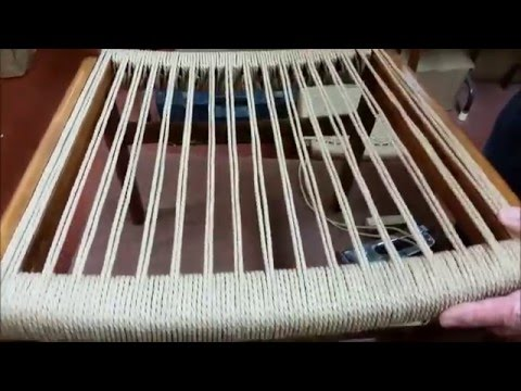 Danish Cord Double Side Rail Weaving Video