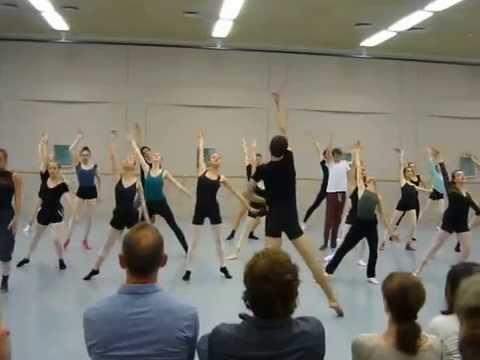 Amsterdam Interantional Ballet Summer School 2014 Contemporary Dance