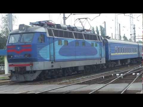 """Train 3 Moscow - Kiev in HD (поезд 3M москва  - киев """"КИЇВ"""")"""