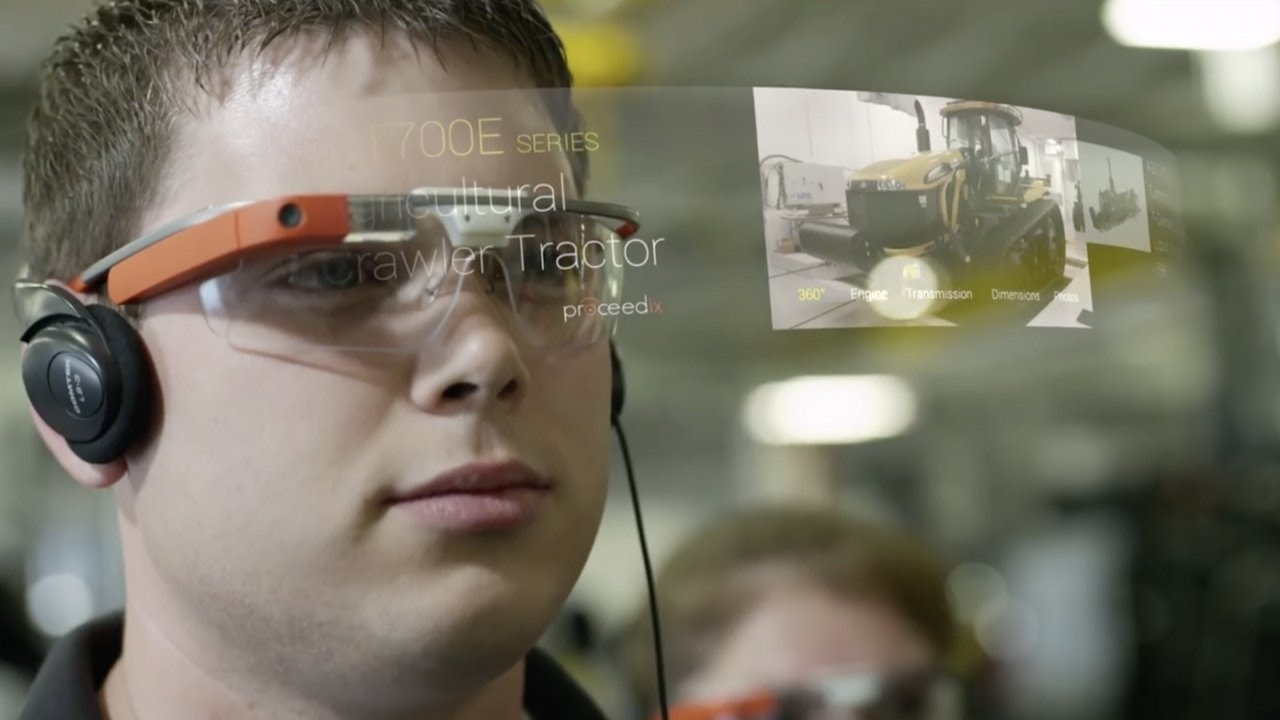 8714e352880 Google Glass is back — but only for businesses - YouTube