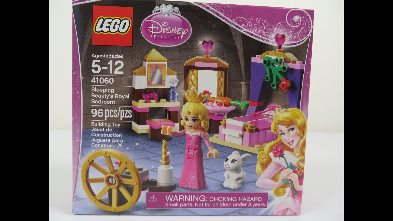 Build A Princess Bed Lego Sleeping Beautys Royal Bedroom 41060 Disney Princess Lets