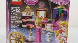 Lego Sleeping Beauty's Royal Bedroom 41060 Disney Princess Let's Build It